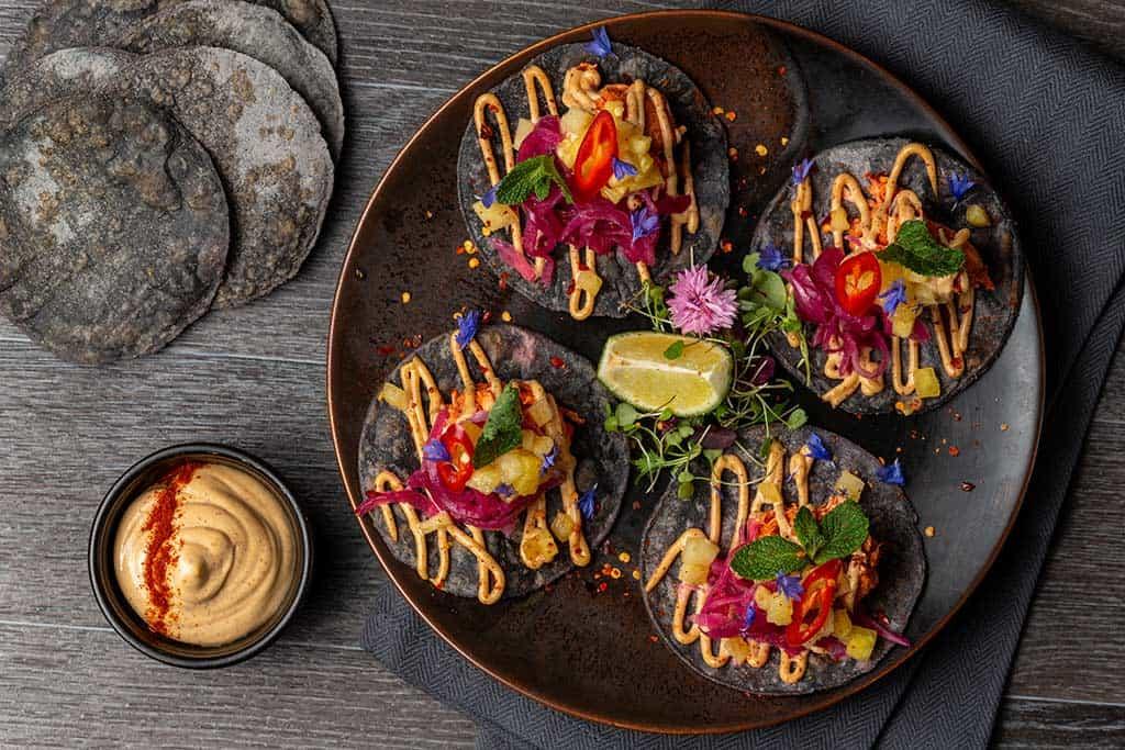 S&G Blue Corn Tacos